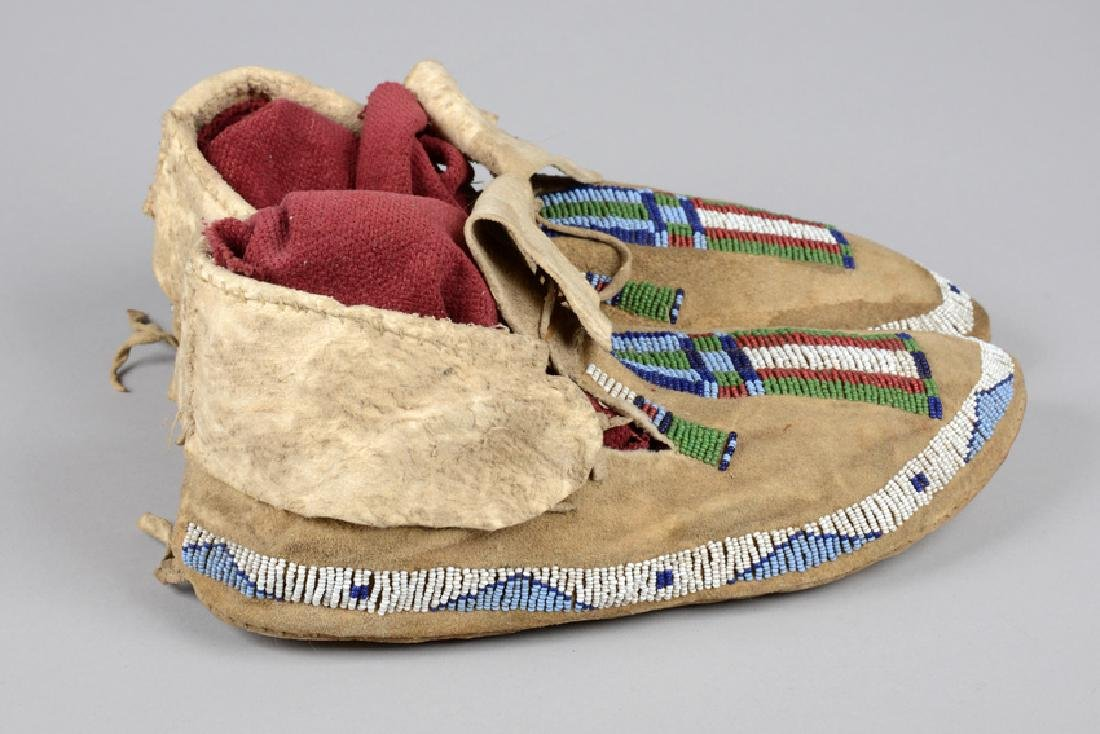Moccasins - North America, Cheyenne - 3