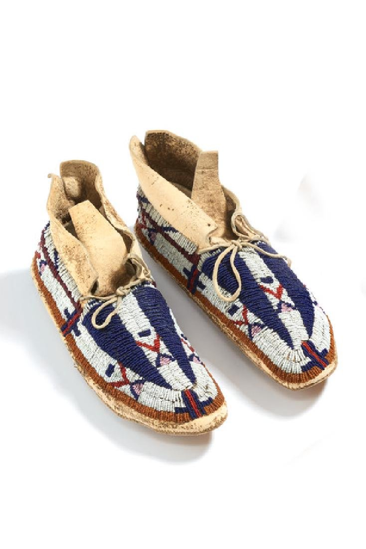 Moccasins - North America, Sioux