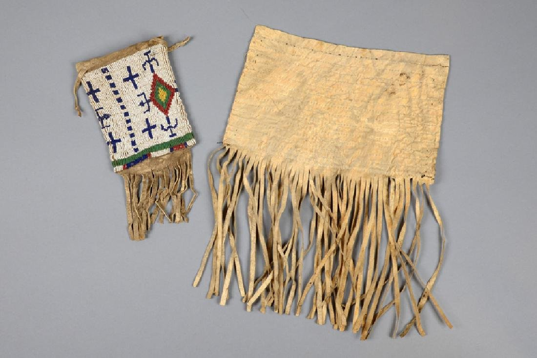 Bag and flap of a bag - North America, Sioux - 2