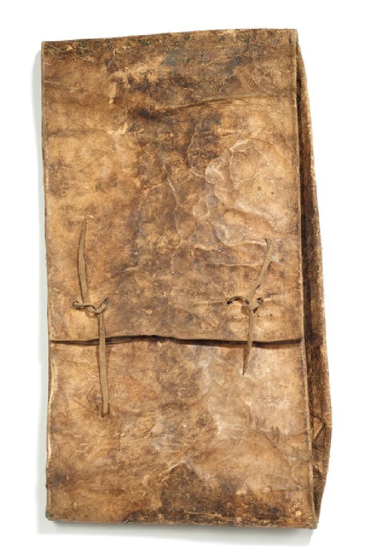 """Folded bag """"parflèche"""" - North America, Plains"""