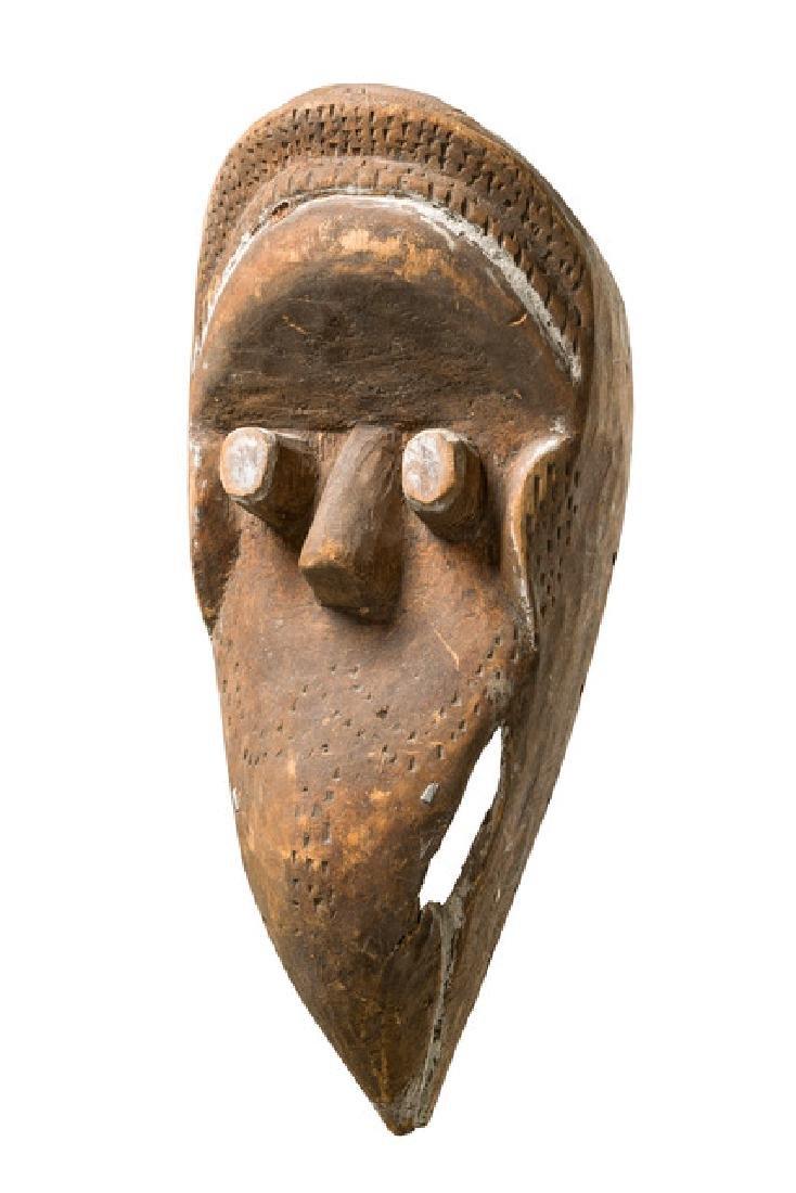 Anthropo-/zoomorphic mask - Liberia, Kran/Ngere/Wé