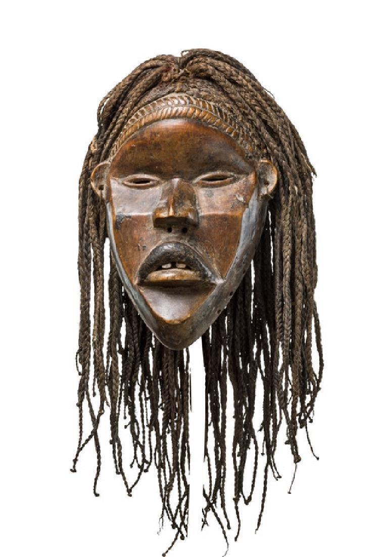 Anthropomorphic mask - Guinea/Liberia, Dan-Guerze