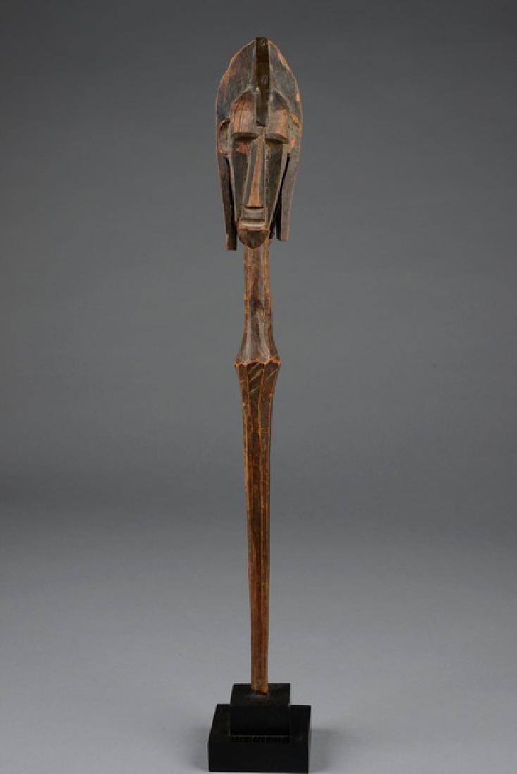 Janiform puppet head - Mali, Bamana/Malinke