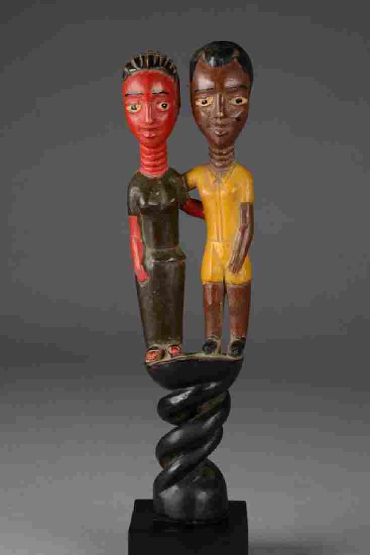 Couple - C�te d'Ivoire, Baule
