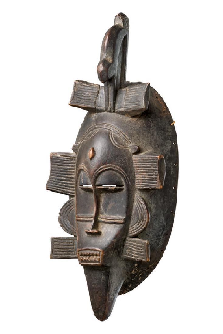 """Mask """"kpélié"""" - Côte d'Ivoire, Senufo"""