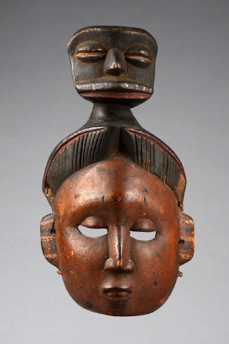 """Mask """"mfon ekpo"""" - Nigeria, Ibibio"""