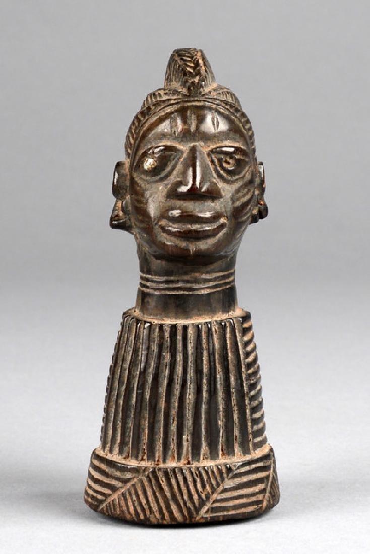 """Amulet of the """"eshu"""" cult - Nigeria, Yoruba"""