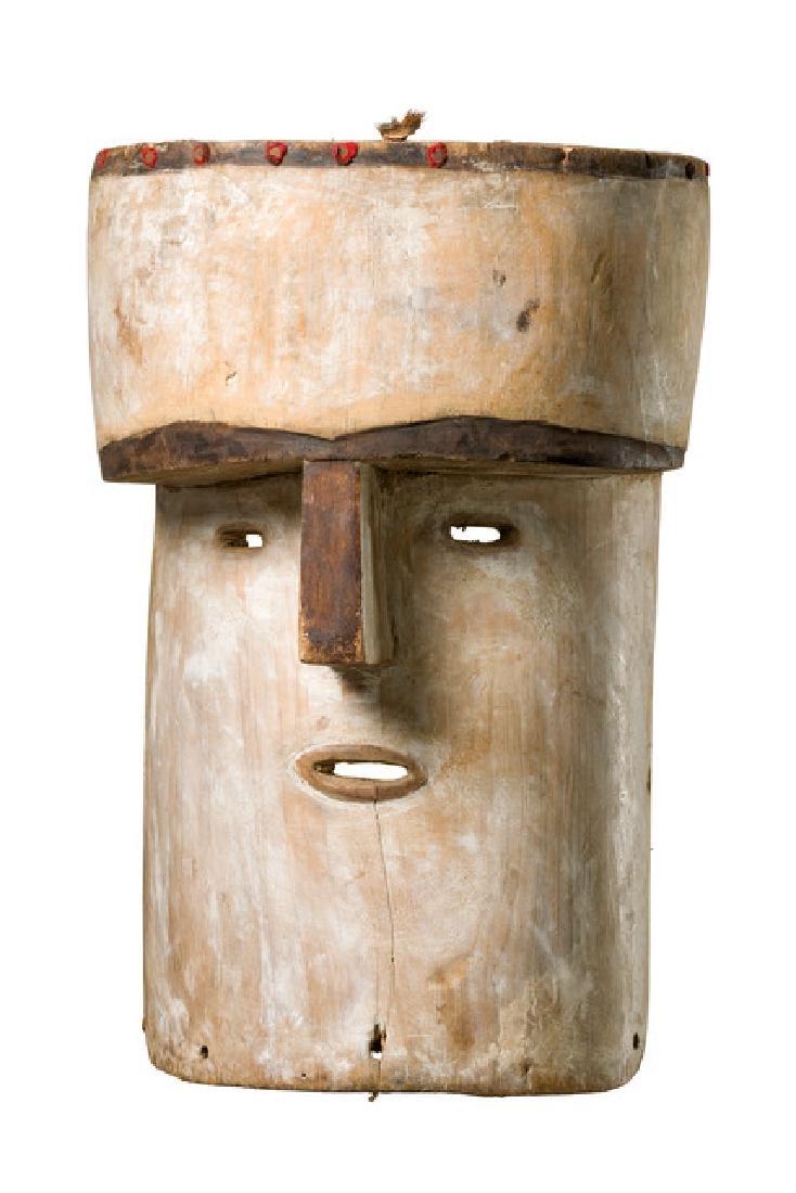 """Mask """"mvudi"""" - Gabon, Adouma/Tsogho"""