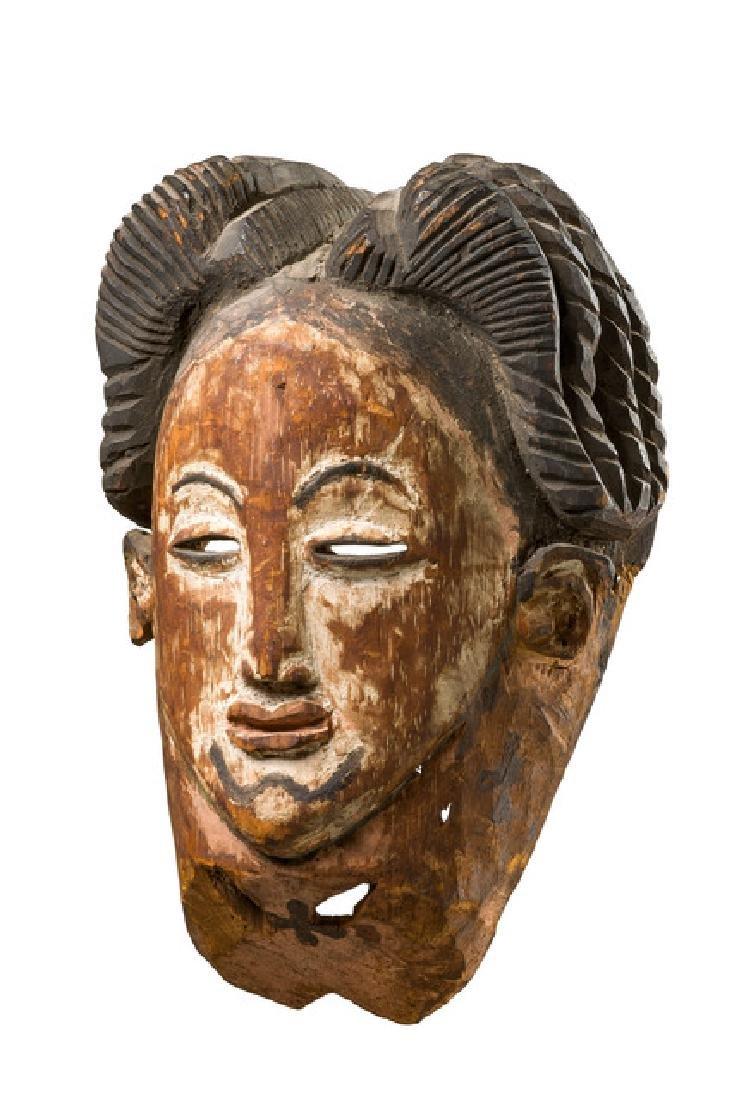 """Female face mask """"okuyi"""" - Gabon, Punu"""