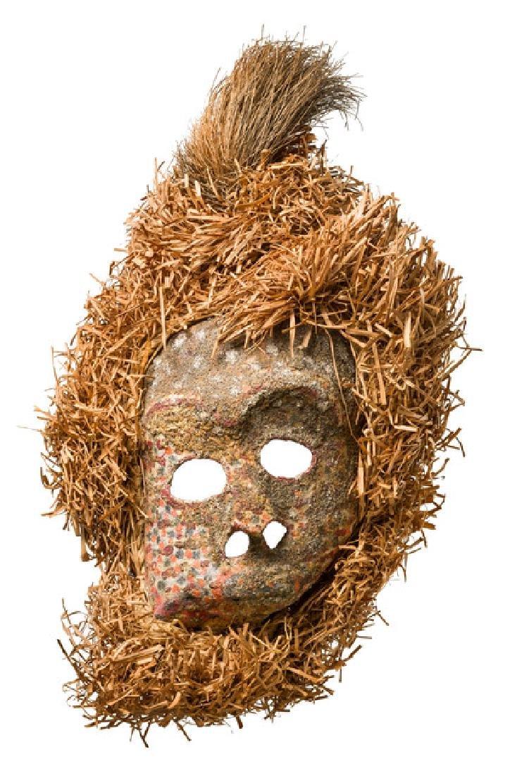 Anthropomorphic face mask - D. R. Congo, Ndaaka