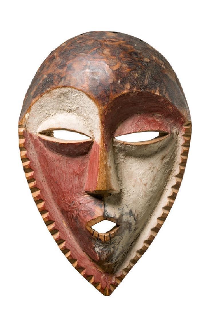 Anthropomorphic face mask - D. R. Congo, Nyindu