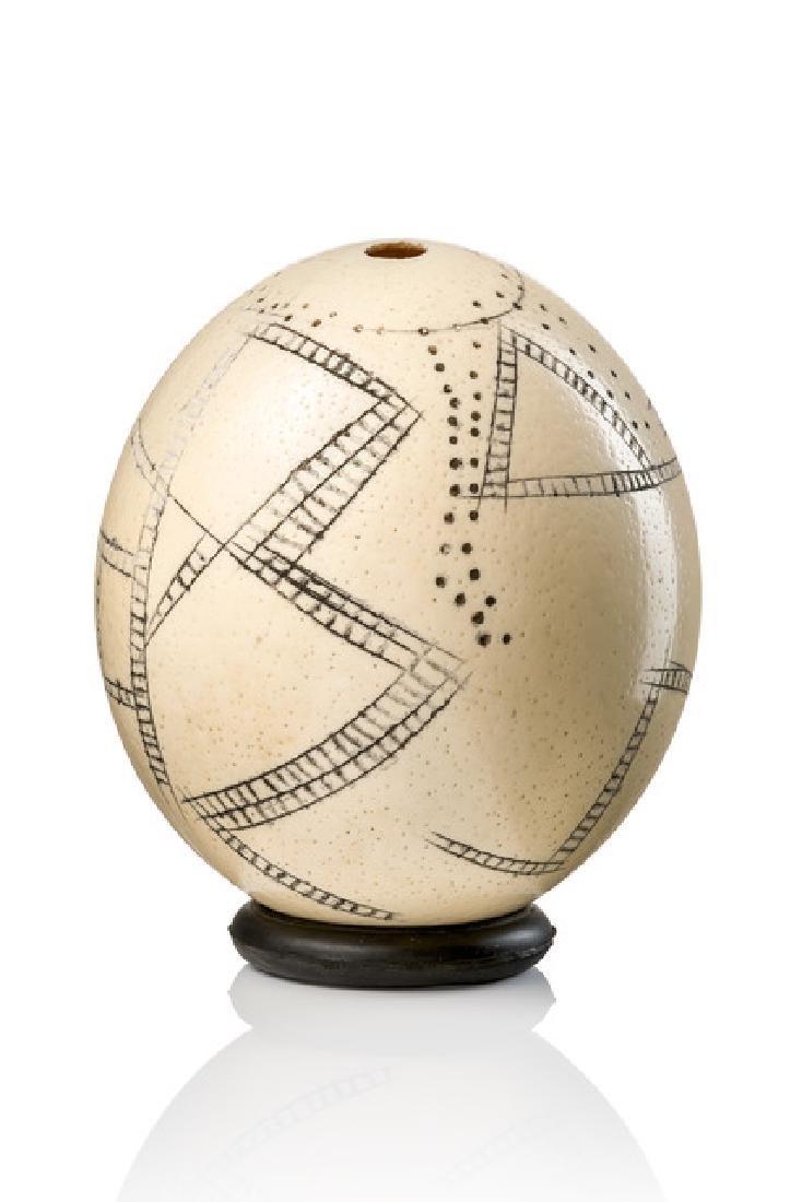 Ostrich egg - South Africa, San