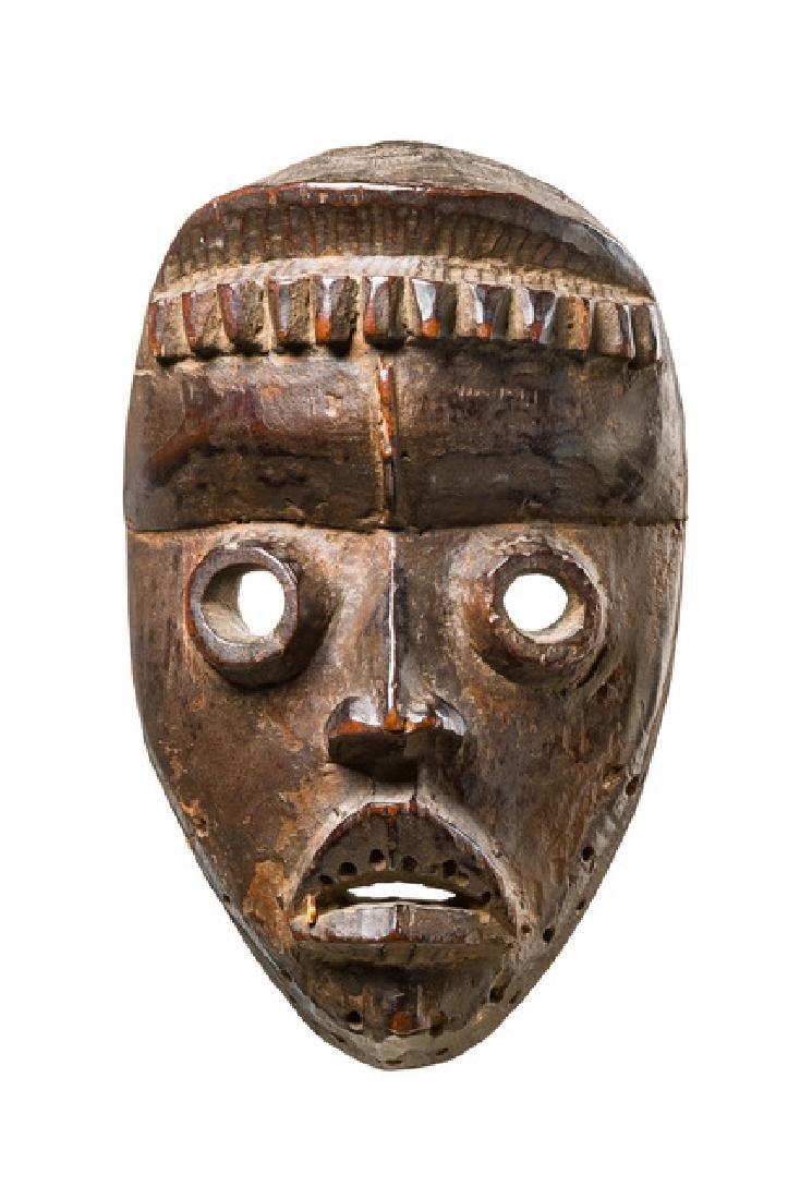 """Actor mask """"bagle"""" - Côte d'Ivoire, Dan"""