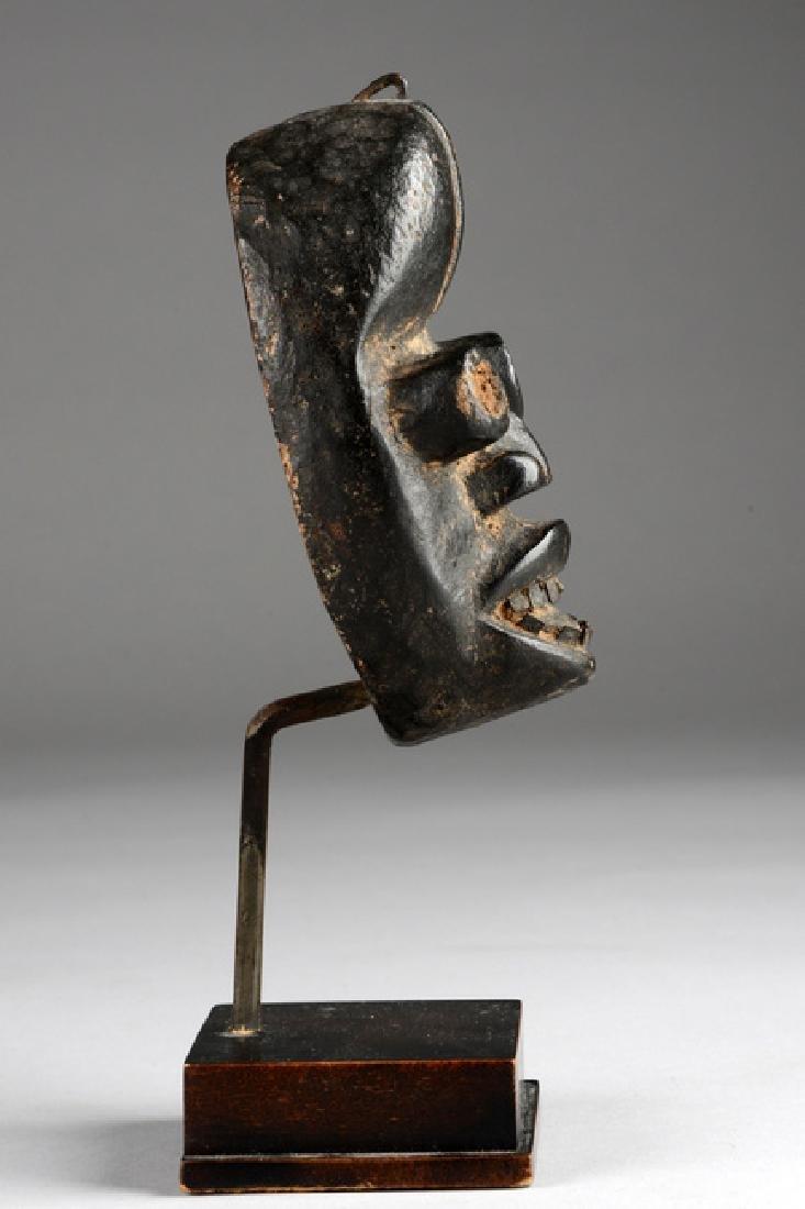 Miniature mask - Côte d'Ivoire, Dan/Ngere - 3