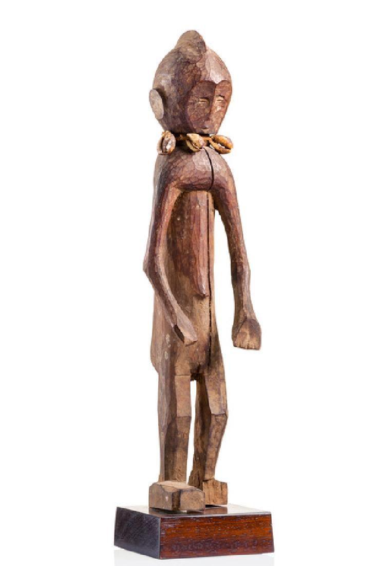 Standing female figure - Nigeria, Chamba
