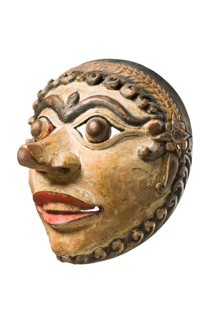"""Theatre mask """"wayang topeng"""" or """"wayang gedok"""" -"""