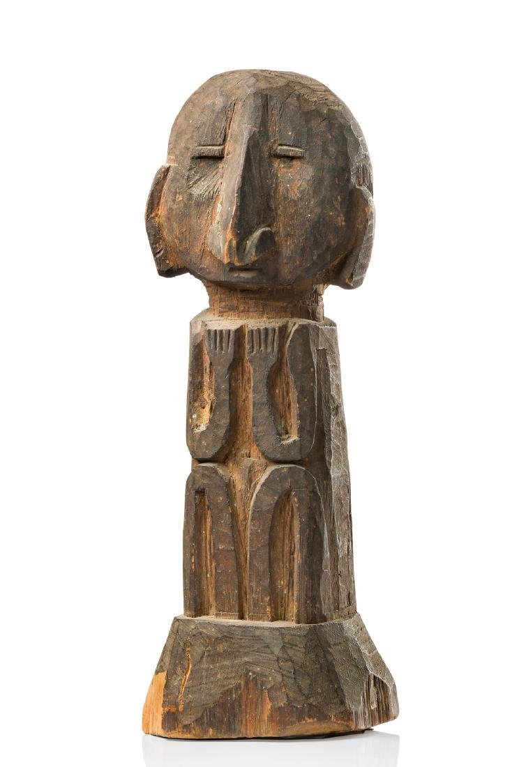"Male ancestor figure ""yene"" - Indonesia - Moluccas, Kei"