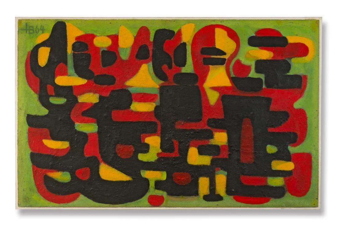 Untitled, 1964 - Barthel, Hugo (1918-1977), Bad