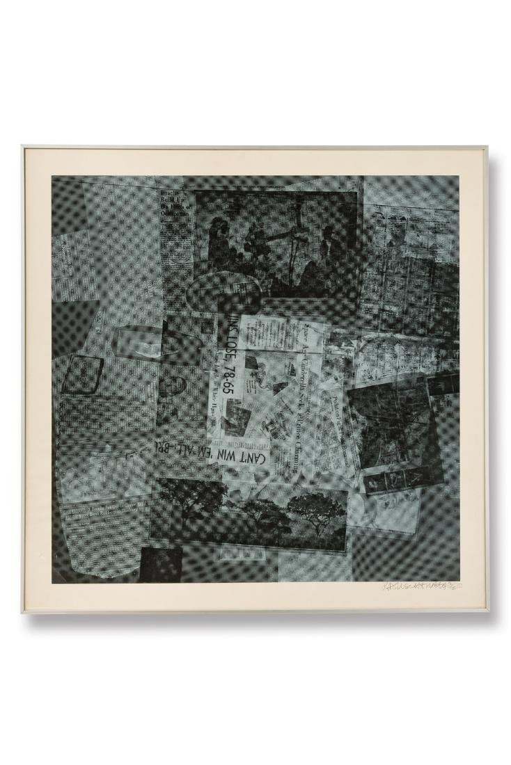 Surface Series: From Currents 1970 - Rauschenberg,
