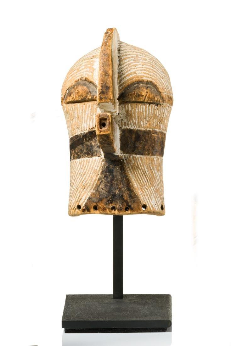 "Small mask ""kifwebe"" (""kilume"") - D. R. Congo, Songe"