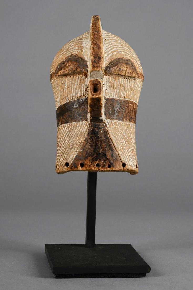 "Small mask ""kifwebe"" (""kilume"") - D. R. Congo, Songe - 2"