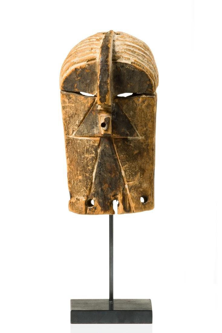 "Miniature mask ""kifwebe"" - D. R. Congo, Songe"