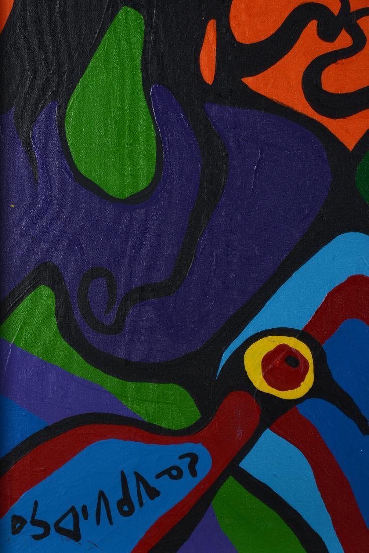 Untitled (Portraits with birds) - Morrisseau, Norval - 2