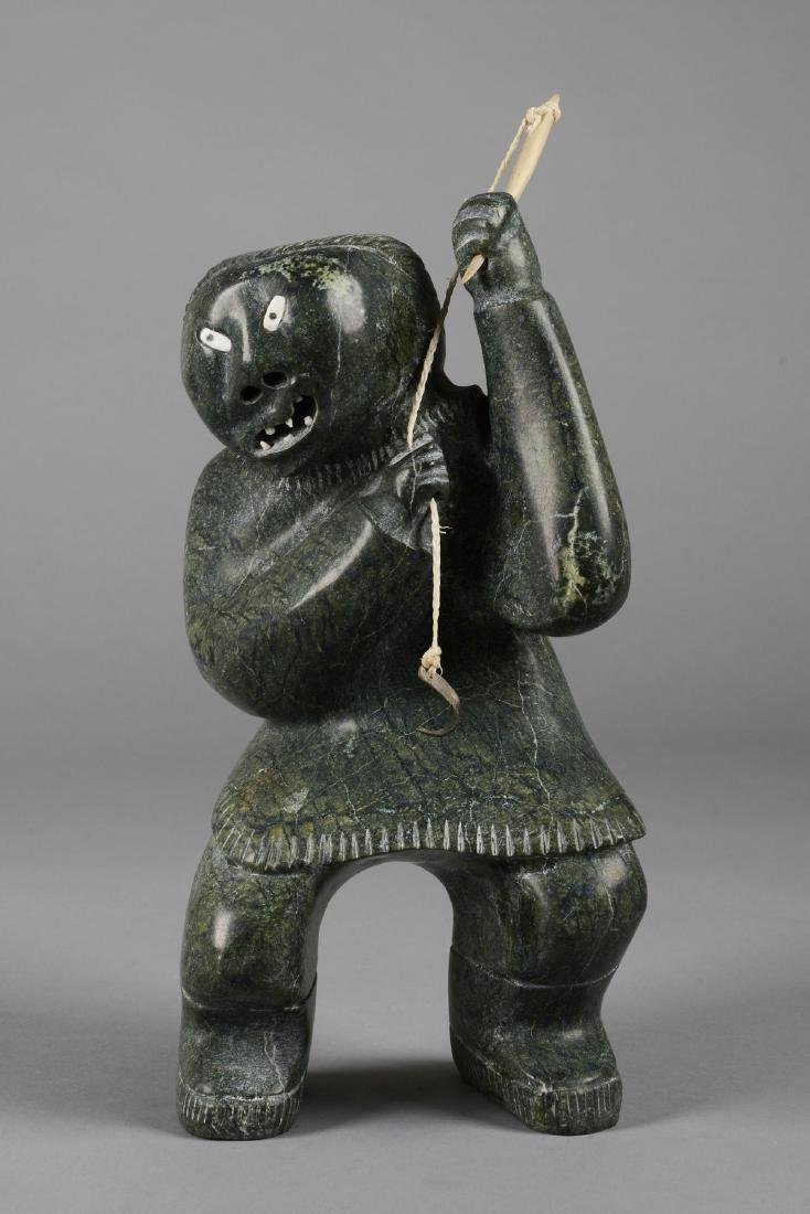 Female figure with fishing rod - Ullulaq, Judas, - 2