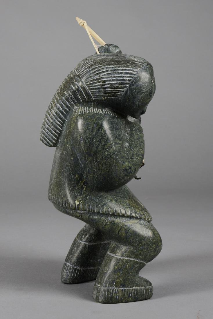 Female figure with fishing rod - Ullulaq, Judas, - 3