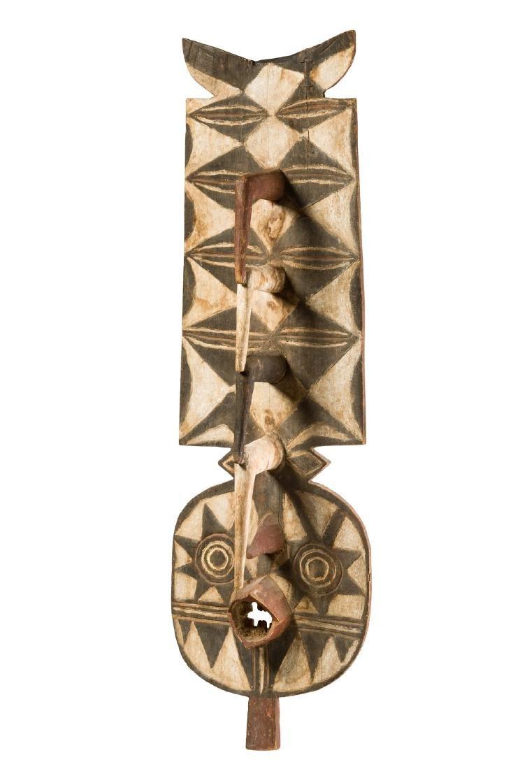 "Zoomorphic plank mask ""nwantantay"" - Burkina Faso, Bwa"