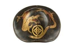 """Military helmet """"jingasa"""", late Edo period, 19th"""