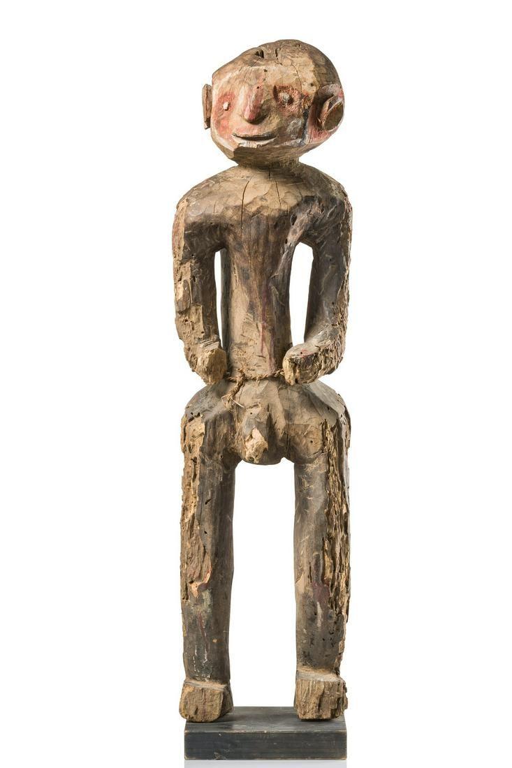 Standing male figure - Nigeria, Montol / Chamba
