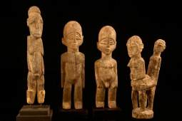 Four small figures - Burkina Faso, Lobi