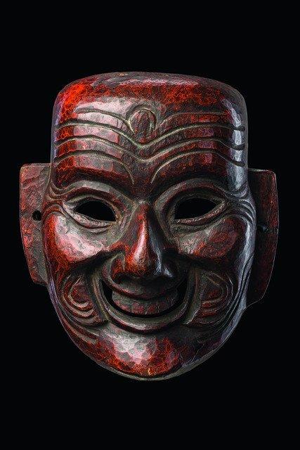 "Mask ""joker"" - Indien - Arunachal Pradesh, Monpa"