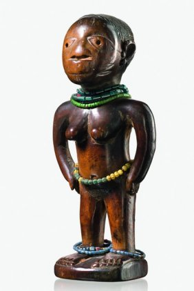 "Female Twin Figure ""ere Ibeji"", 19th Century - Nigeria,"