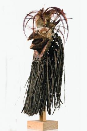 Small Bird Head Mask - D. R. Congo, Luba