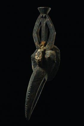Zoomorphic Mask (hornbill) - Burkina Faso, Gurunsi