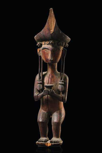 Royal Ancestor Figure, Adu zatua   Bruce Frank Primitive
