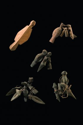 Pendants From Amulet Necklaces - Indonesia - Nias