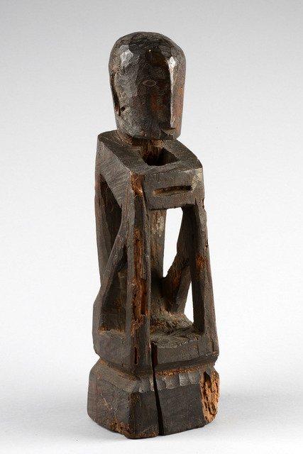 "Rice god ""bulul"", late 19th century - Philippines -"