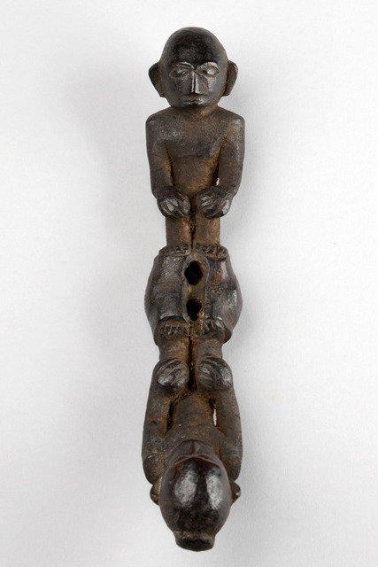 Gong handle, around 1900 - Philippines - Ifugao, Hapeo