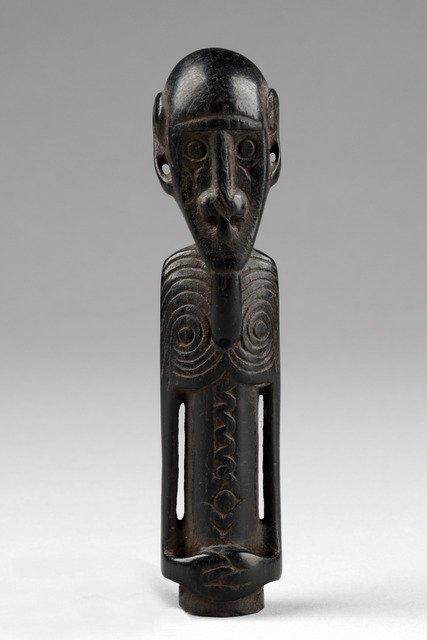 Anthropomorphic half figure, around 1900 - Papua New