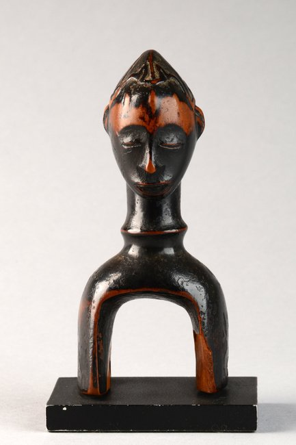 "Heddle pulley ""kono"" with anthropomorphic head - Côte - 5"