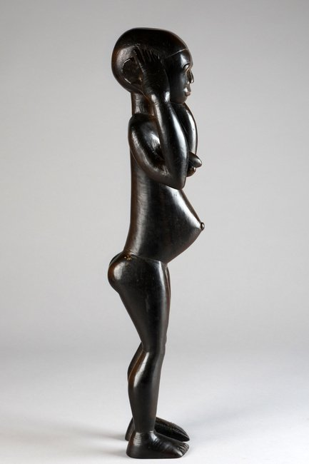 Standing female figure - Cameroon, Bane - 4