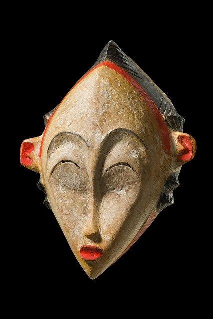 """Mask """"okuyi"""" - Gabon, Punu"""