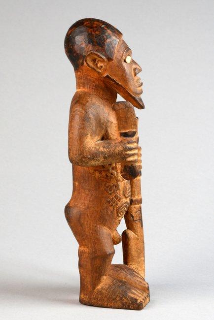"Standing male figure ""mukuya"", before 1905 - D. R. - 4"