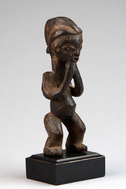 "Small standing female figure ""pindi"" - D. R. Congo, - 4"