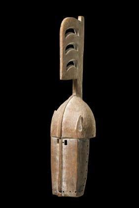 """Mask """"nwenka"""" - Burkina Faso, Bobo"""