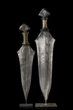 Two knives - D. R. Congo, Mbole
