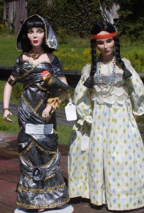 2: 2 Dolls - Cleopatra  & Princess Kimimi by Frances Re